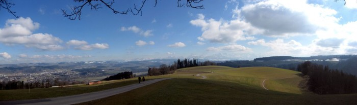 Gurtenpanorama - Alpen