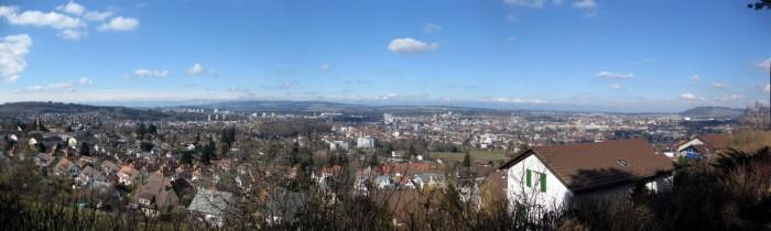 Gurtenpanorama - Stadt