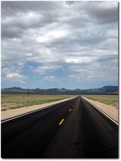 Highway No 6 - Gerade bis an den Horizont