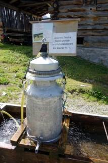 Milchausschank Hauderalp