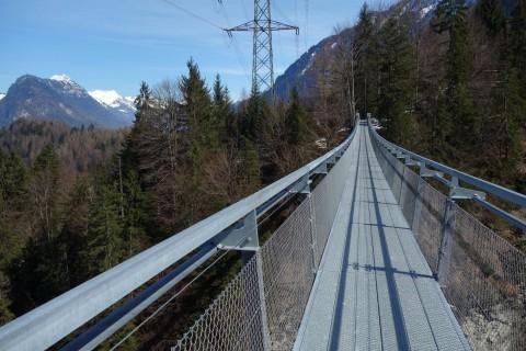 Hängebrücke Leissigen - Steg