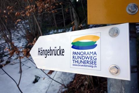 Brückenweg Thunersee