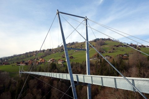 Hängebrücke Sigriswil - Ansicht