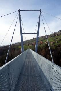 Hängebrücke Sigriswil - Hier musst du drüber...