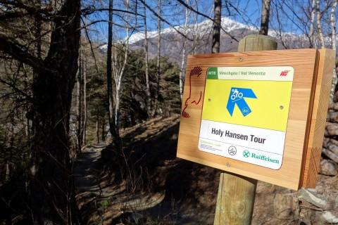 Einstieg Holy Hansen Trail
