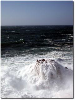 Brechende Wellen beim Ghost Tree 01