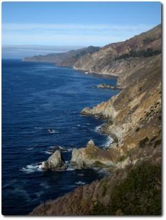 Highway No 1 zwischen Monterey und San Simeon
