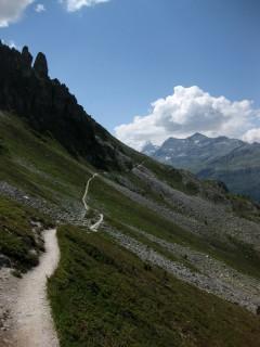 Höhenweg nach Zinal