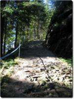 Karrweg hinauf zum Schärpfenberg