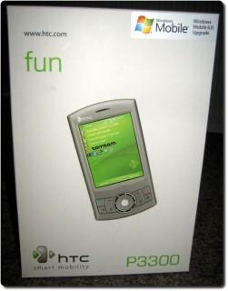 HTC P3300 Box