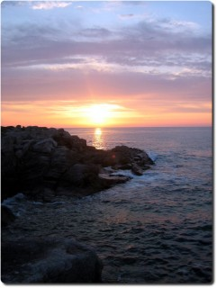 Sonnenuntergang Ille Grande