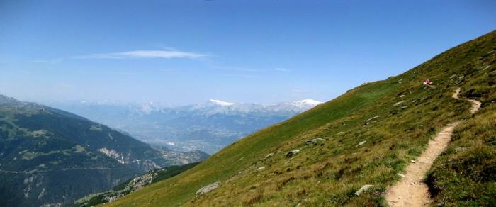 Panorama - Aufstieg Illhorn