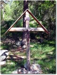 Jesuskreuz bei Ausserberg