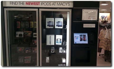 iPad aus dem Automaten