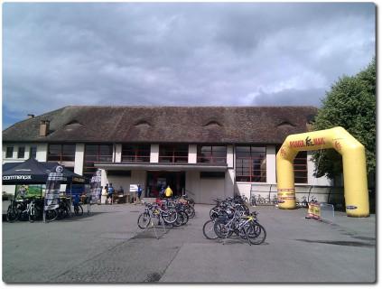 Ironbike Brittnau - Start beim Schulhaus
