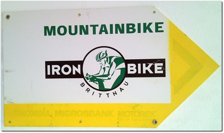 Ironbike Brittnau - Wegweiser