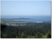 Jacks Peak - Blick auf Point Lobos und Carmel