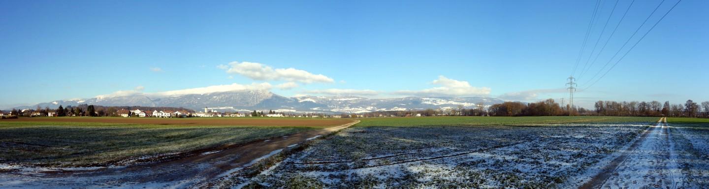 Panorama - nix von Hochnebel