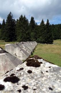 Panzersperren im Jura