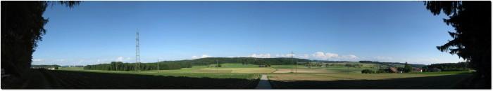 Panorama zwischen Halten und Wynigen