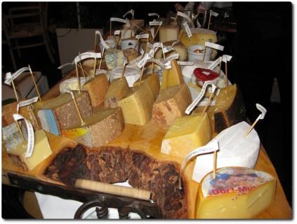 Käseplatte im Hotel Doldenhorn