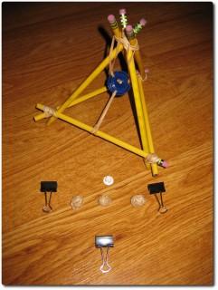 Wikinger Bleistift Katapult