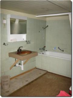 Kemmeribodenbad Bauernhaus Bad und WC