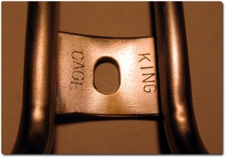 King Cage aus Titanium - Detail