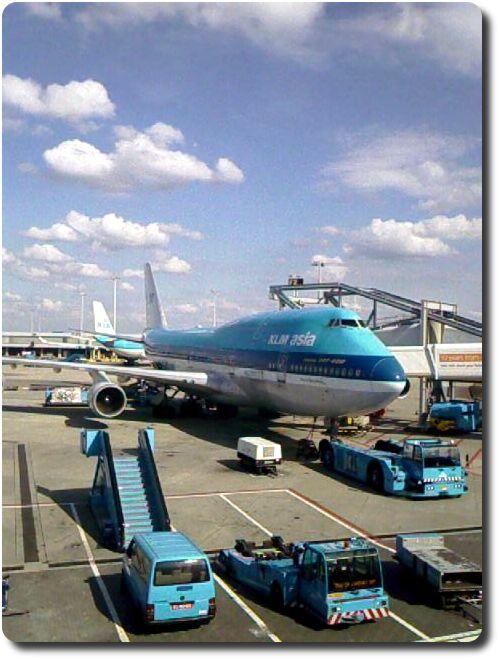 Jumbojet 747-400 KLM Asia