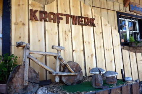 Ausstellung Kraftwerk Bikeshop