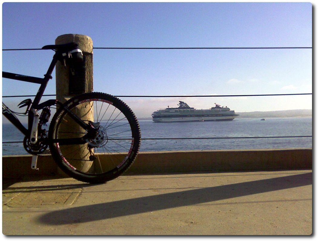 Kreuzfahrtschiff vor Monterey