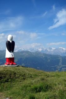 Verbier - Kunst am Berg