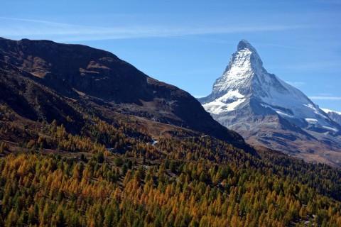 Indian Summer mit Matterhorn