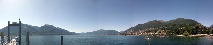 Panorama Lago Maggiore bei Tenero