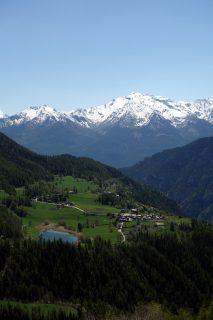 Blick zurück zum Lago di Lod