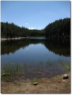 Norris Geyser Basin - Einsamer See