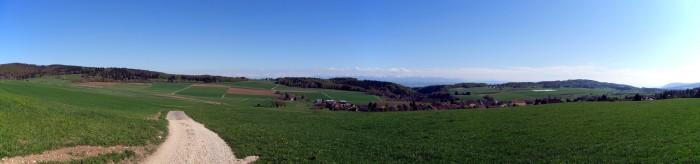 Panorama bei Lamboing