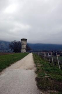 Wasserturm bei Landecy
