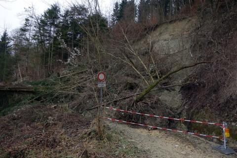 Kleiner Bergsturz Emmenbrückli Biberist
