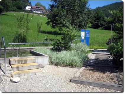 Kneippparcour in Langenbruck