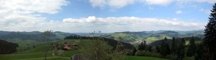 Panorama - Abfahrt nach Langnau