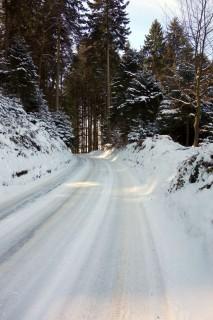 Der Schnee bleibt hartnäckig