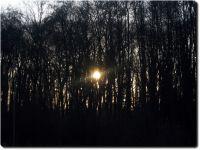 Letzter Sonnenuntergang des Jahres 2007
