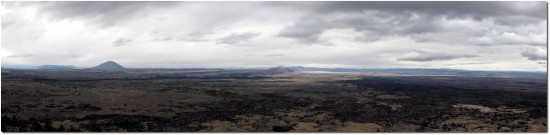 Panorama Lava Beds National Monument