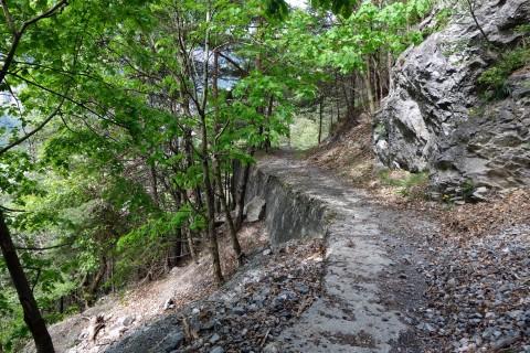 Wanderweg Lavey-les-Bains nach Morcles