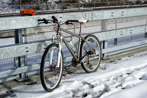 Neue Brücke in Derendingen