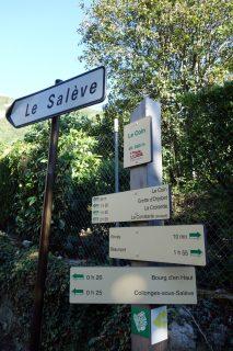 Aufstieg Salève - Le Coin