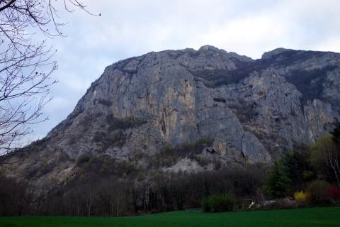Nochmals die Felsflanke des Salève