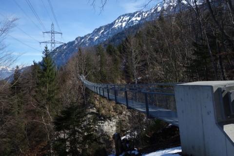 Hängebrücke Leissigen