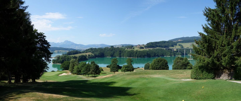 Panorama Lac de la Gruyère